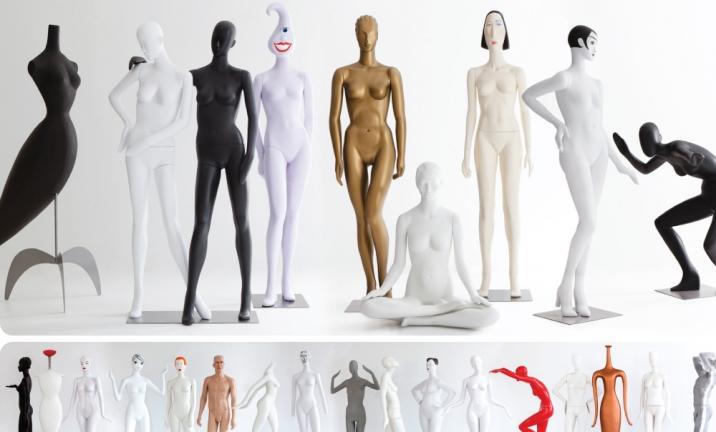 Como escolher o melhor manequim para loja de roupas