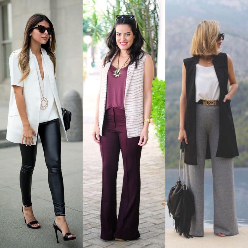 Tendência para 2019: coletes jeans e em vários tecidos