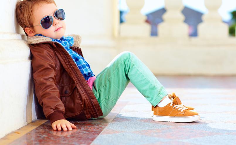 4 Tendências de moda infantil para o inverno 2019-cores vibrantes