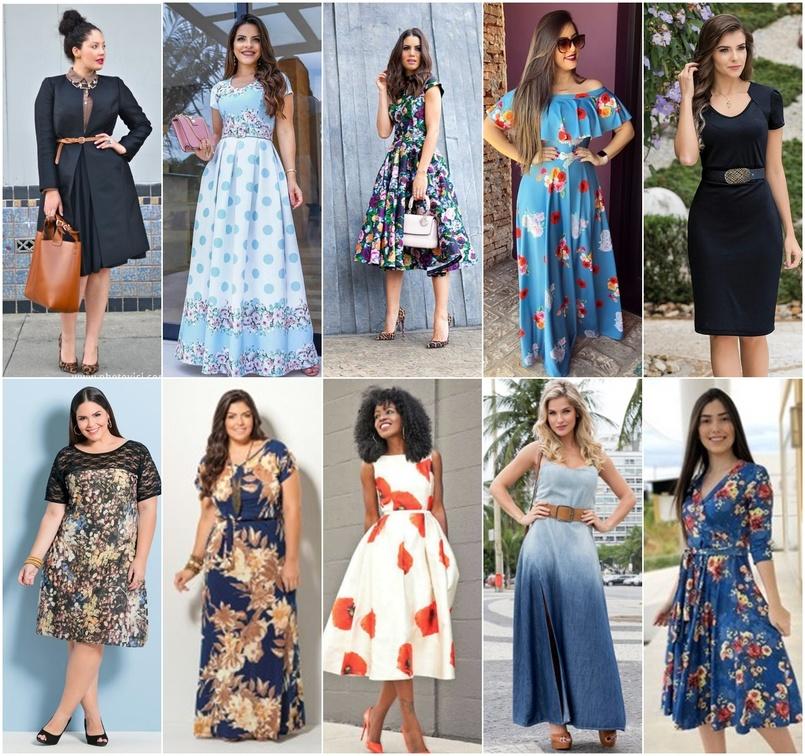 1e17335285 Os vestidos e as saias longas são itens básicos na moda evangélica